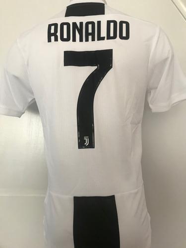 Camiseta Juventus 2018 2019 Ronaldo Version Jugador 02afa7c394b22