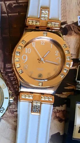 83be0e8a1968 Reloj Swatch Irony Fancy Me Yls430c Negro O Dorado Swiss