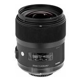 Lente Sigma 35mm Art F1.4 Dg Hsm Para Nikon