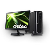 Pc Slim I3 500gb 4gb Win7pro Office2013(original)+monitor 19