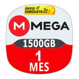 Cuentas Premium Mega 30 Dias 1 Mes Oficial 1500gb Garantia
