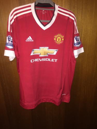 Camiseta Manchester United 2015-2016 Titular 8f8b5f111c3