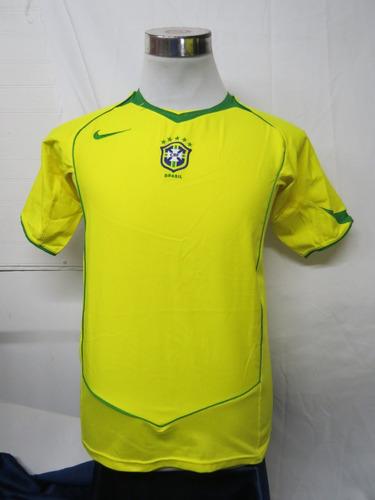 c84ecb583ec Camiseta Selección Brasil Talla Xs Nike Año 2005