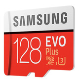 Tarjeta Micro Sd Samsung Evo Plus 128gb 90m/s U3 4k Original