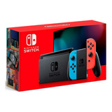 Consola Nintendo Switch Neon V2 2019 + Mica Vidrio- Prophone