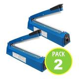 Pack 2 Selladora De Bolsas 20 Cm Con Repuesto / Master Prox