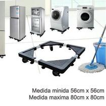 Base Multiusos Ruedas Cocinas Lavadoras Refrigerador Grande