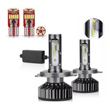 Luces Turbo Led 12.000 Lm,canbus H1 H4 H3 H7 H11 9005 9012