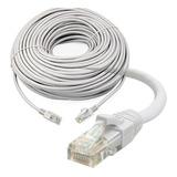 Cable De Red Utp Rj45 Categoría Cat 5e 20 Mts