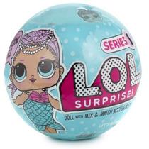 L.o.l Dolls Surprise Muñeca Lol  Sopresa Series1 Sirena