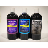 6 Shampoo Matizado.azul, Violeta, Grafido.  Elegir Su Colo