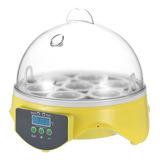 7 Huevos Mini Digital Egg Incubadora De Huevos Transparente