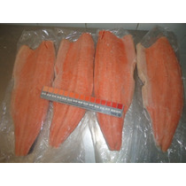 Llego Filete Salmon Sin Espinas Con Piel Sellado Al Vacio
