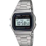 Reloj Retro Casio A158wa-1  Relojesymas