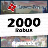 2000 Robux - Roblox Mejor Precio Todas Las Plataformas