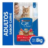 Cat Chow® Adultos Carne 8 Kg
