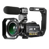 Ordro Ac3 4k Wifi Cámara De Vídeo Digital Videocámara Grabad