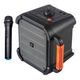 Parlante Portátil Karaoke Bluetooth Mgrage Master G + Microf
