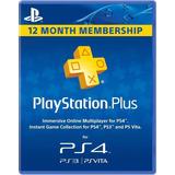 Playstation Plus 1 Año Psn Ps4