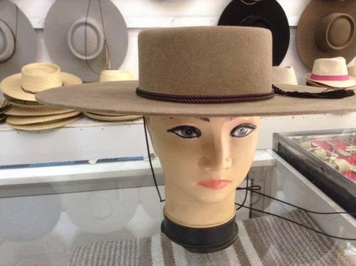 Sombrero Huaso ( Marca Castor ) Paño Lana Nuevo. Precio    78990 Ver en  MercadoLibre 77b6a723920a
