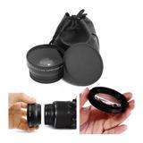 Gran Angular Macro 58mm 0.45xlente Canon Nikon