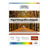 Papel Fotográfico Matte Nobucolor A3 110 Gr. 100 Hojas