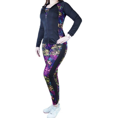 comprar nuevo nueva productos calientes textura clara Conjunto Buzo Deportivo Mujer Lycra - 3 Piezas S M L Xl