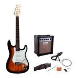 Pack D Guitarra Electrica Mercury Ms15 Garantia Abregoaudio