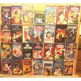 Películas 1 Vhs Disney Originales Animación Anime Hollywood