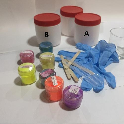 Resina Epóxica, 1 Kg Transp Epoxy, Madera Joyas Asesoría