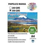 Papel Fotografico Doble Faz Glossy A4 50 Hoja Calida Premium