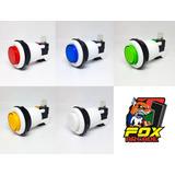 Boton Arcade 100% Taiwanes Plano - Arcade Fox