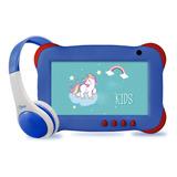 Tablet Kids & Audífonos Niños Mlab 7  Play & Learn Plus 16gb
