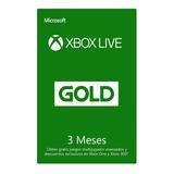 Xbox Live Suscripción 3 Meses Código Digital