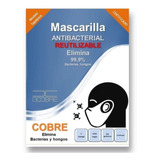 Mascarilla De Cobre Reutilizable