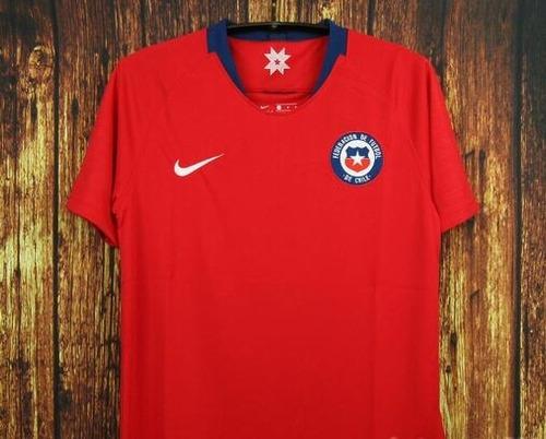 Camiseta Fútbol Chile 2018 Nuevas De Local.   23500 119b580a3cf46