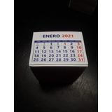 Tacos Calendarios Mini 2021  1.000 Unidades