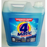 Detergente Líquido 4matic Bidon 5lt