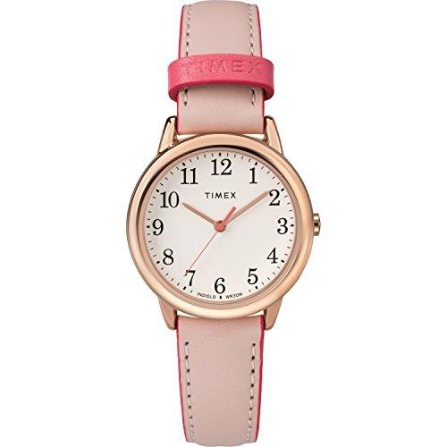 2959d7c148f2 Timex Reloj De Correa De Cuero Easy Reader Para Mujer