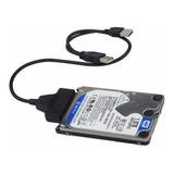 Adaptador Cable Usb A Sata Disco Duro 2.5  Notebook | Dfast