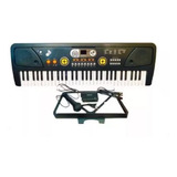 Teclado Bf730c Piano Organo 5 Octavas Usb Mp3 Aux Pawer Bank
