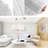 Pack De 10 Lamínas Para Muro Auto Adhesiva