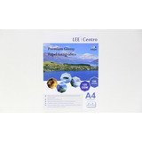 Papel A4 Glossy 120 Gramos 100 Hojas  Lee Centro
