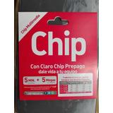 Chip Claro 5 Min + 5 Mb