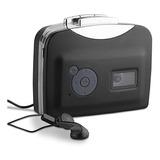 !reproductor Convertidor De Cassettes A Mp3 Hd Audio Digital