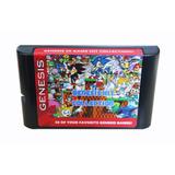 Cassette Sega Collection Genesis Memoria4 Gigas Envio Gratis