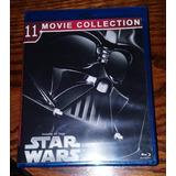 Star Wars En Blu Ray, Saga Completa, 10 Disc. Pack De Lujo