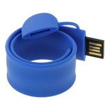 Flash Usb Pulsera Silicona Disk 8gb Memoria Purpura
