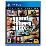 Grand Theft Auto V Ps4  Premium Edition - Prophone