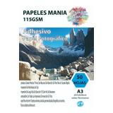 Papel Adhesivo Fotografico Glossy A3 50 Hoja Calidad Premium